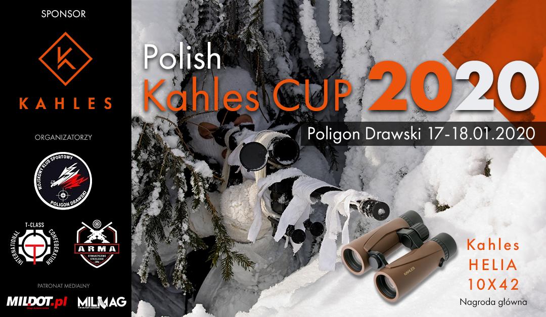 ZAPROSZENIE: Polish Kahles Cup 2020 – Poligon Drawski 17-18.01.2020