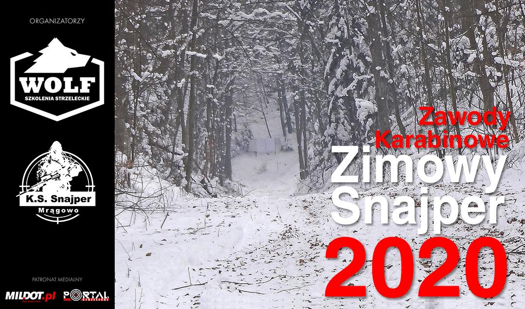 ZAPROSZENIE: Zawody Zimowy Snajper 2020 – Marcinkowo 18-19.01.2020